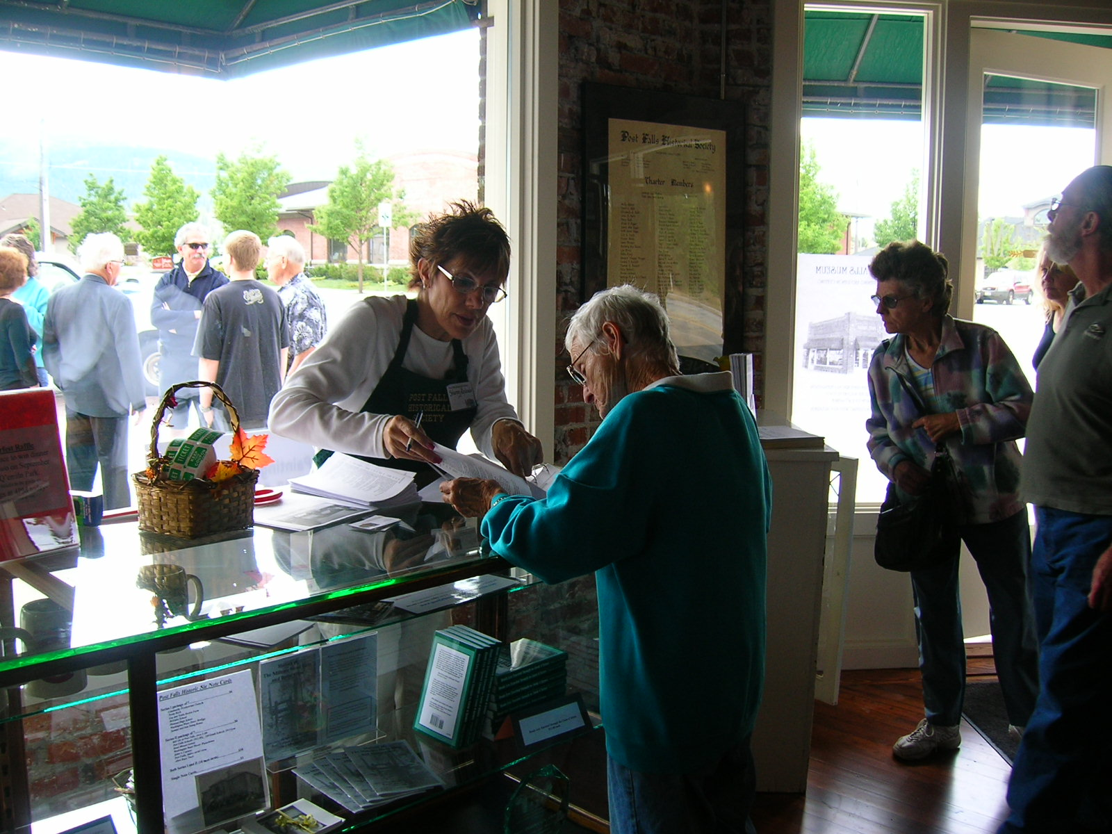 Open House- Signing up for Membership