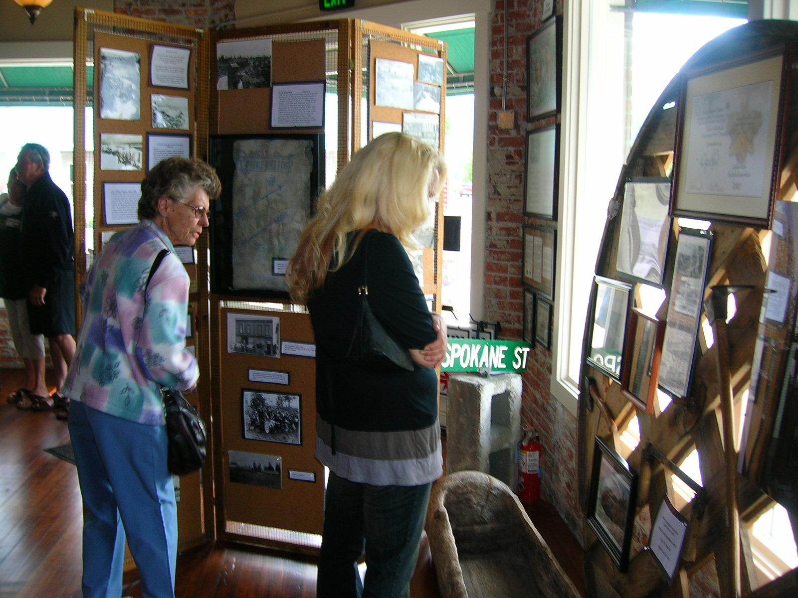 Open House- near the Kildow Canoe Display