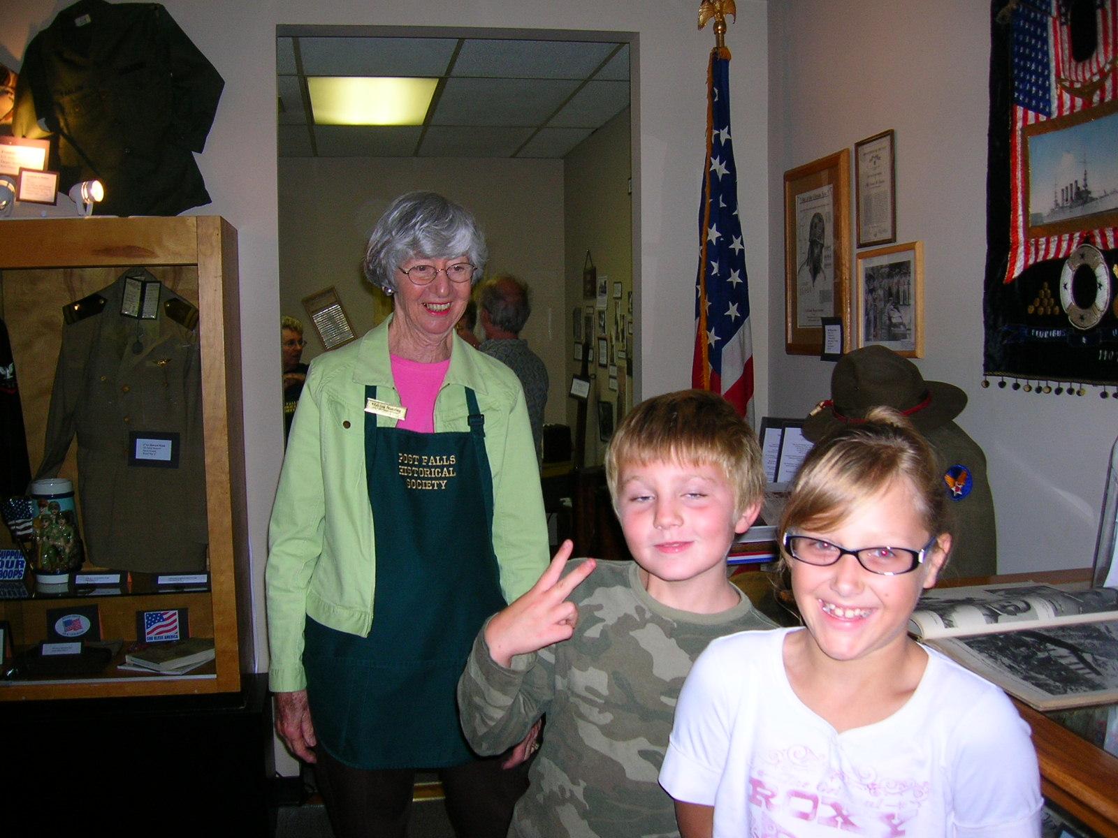 Veterans' Room Visitors