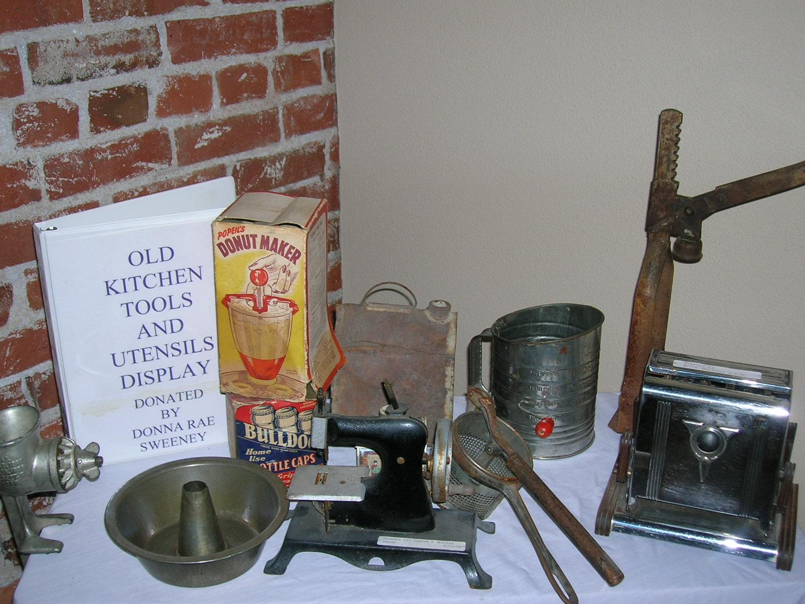 Kitchen Tool Display